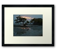 Fire from above and below Framed Print