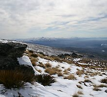 Old Woman Range across to Southern Alps by Karen Doidge