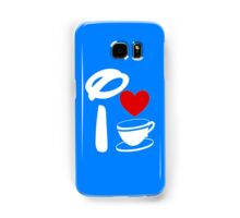 I Heart Tea Cups (Inverted)  Samsung Galaxy Case/Skin