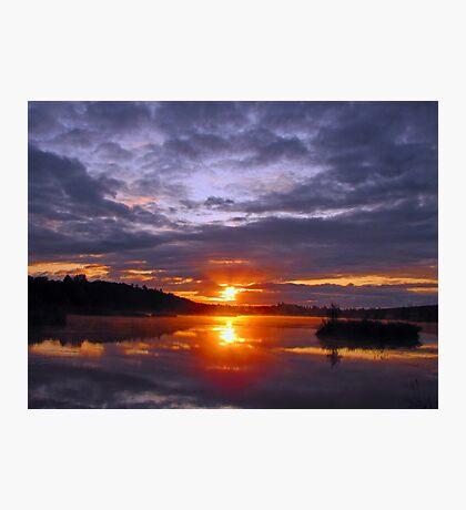 Sunrise at Kirk Park Photographic Print