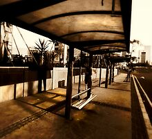 Bus Stop by Charuhas  Images