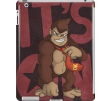 It's on like Donkey Kong! iPad Case/Skin
