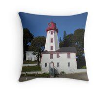 Kincardine Lighthouse Throw Pillow