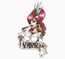 Pirate pinup 'Yarr!' Kids Clothes