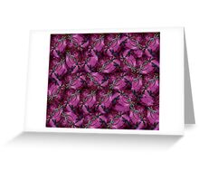 Dragonfly Plum Flit Greeting Card