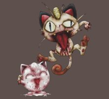 Zombie Meowth and Jigglypuff by RPGesus