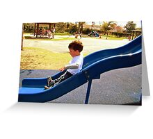 Playground Fun Greeting Card