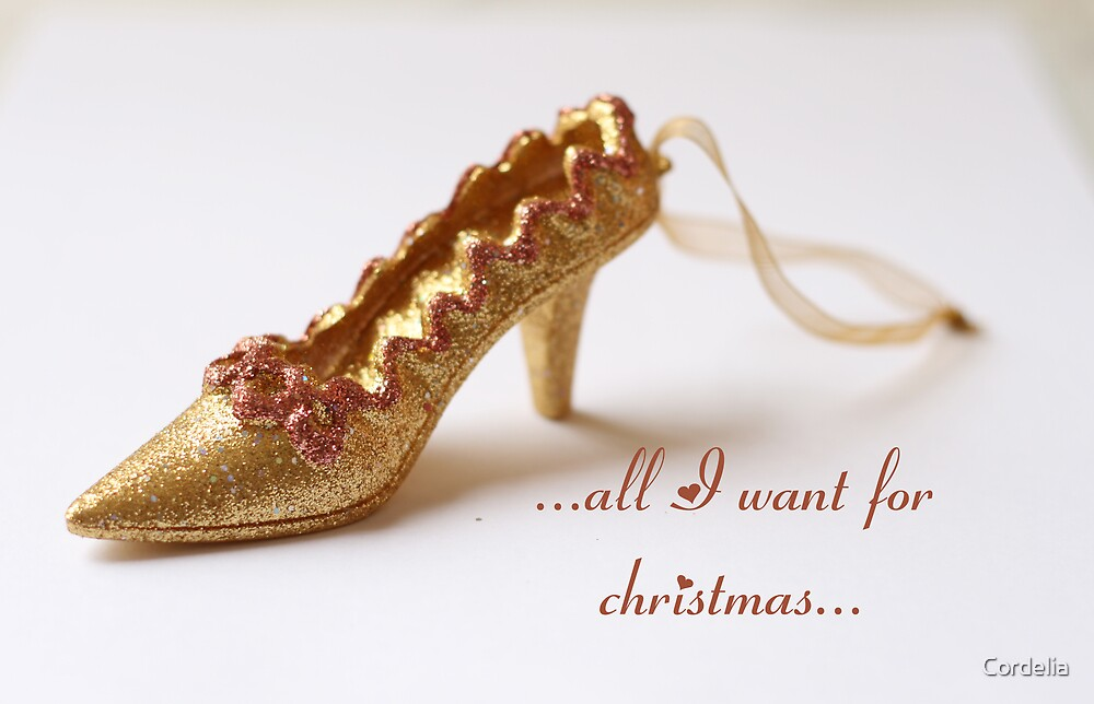 ...all I want for christmas... by Cordelia