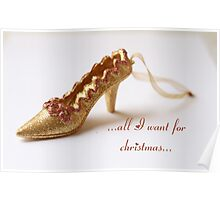 ...all I want for christmas... Poster
