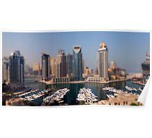 Dubai Marina DOF Poster