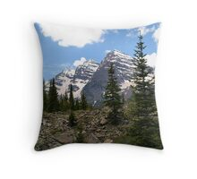 Near Timberline on trail into Maroon Bells Wilderness Throw Pillow