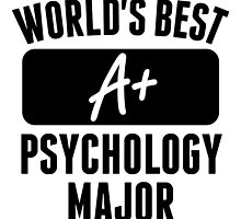 World's Best Psychology Major by GiftIdea