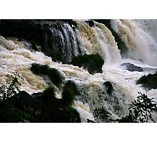 Iguassu Falls - close up Photographic Print