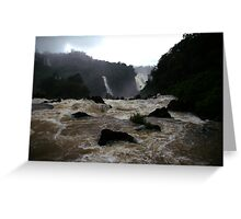 Iguassu Falls - Brazilian view Greeting Card