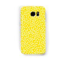 Classic baby polka dots in yellow. Samsung Galaxy Case/Skin