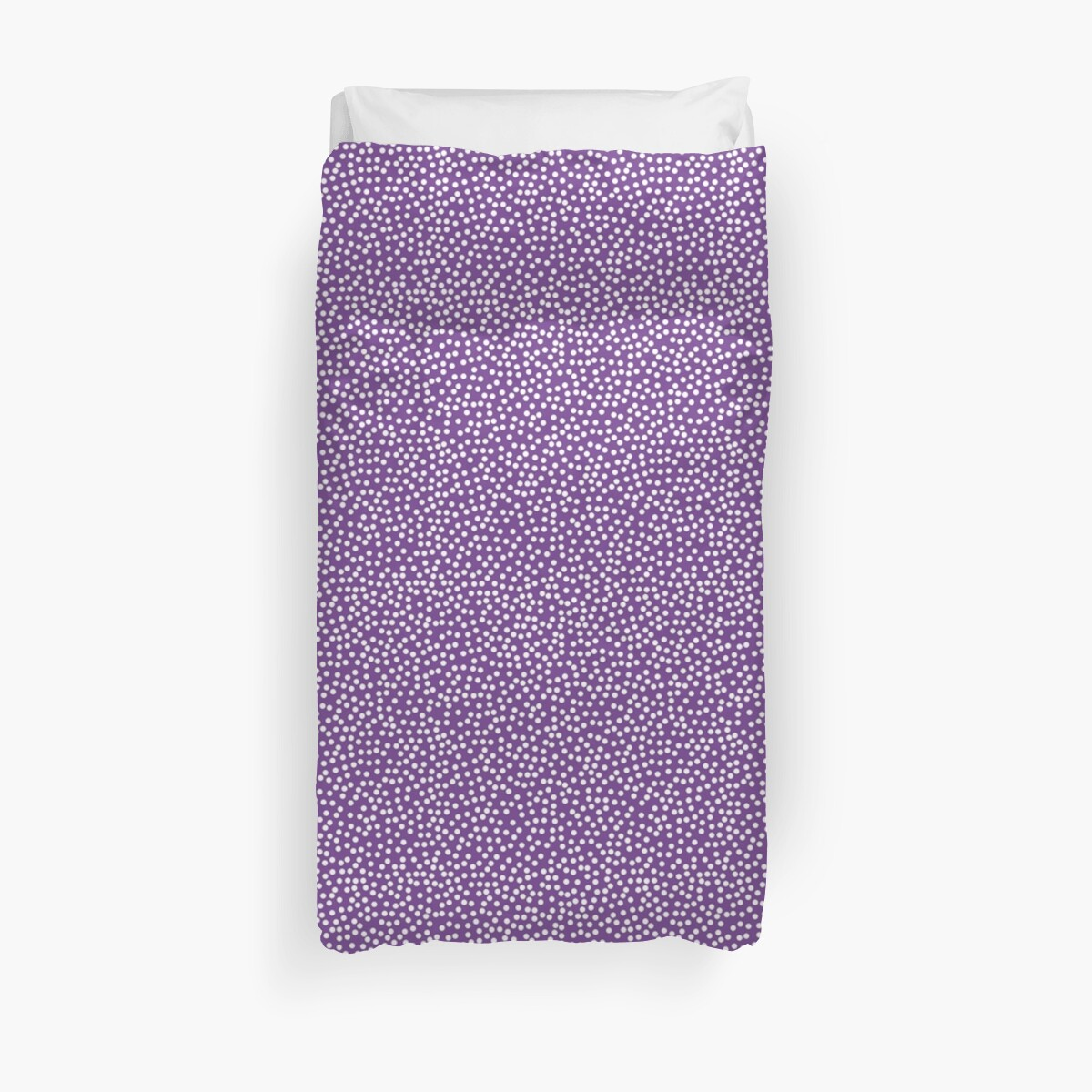 Quot Classic Baby Polka Dots In Purple Violet Quot Duvet Covers