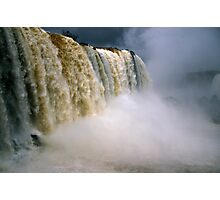 Iguassu Falls - Devil's throat - Brazilian side Photographic Print