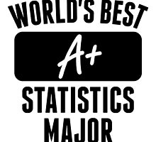 World's Best Statistics Major by GiftIdea