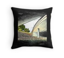 Under the Freeway (1) Throw Pillow