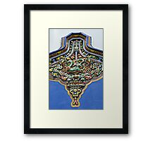 From Old Bowls Framed Print