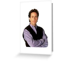 Straight Up Seinfeld Greeting Card