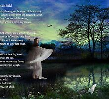 Moonchild - a collaborative work by Rhonda Strickland