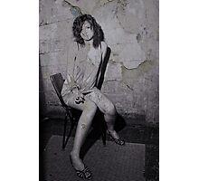 Back Alley Smoko Photographic Print