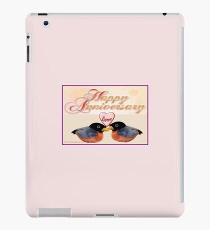 Anniversary Greetings  iPad Case/Skin