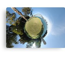 Planet Sydney Canvas Print
