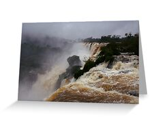 Iguassu Falls - Argentinian side Greeting Card