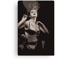 cigar Boudoir Canvas Print