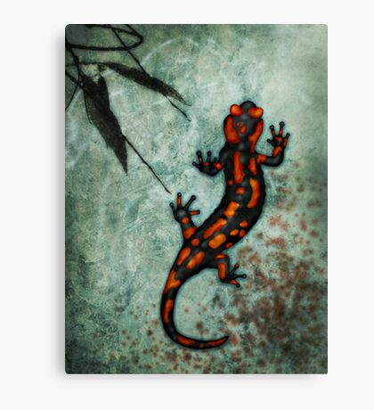 In Cold Blood Canvas Print