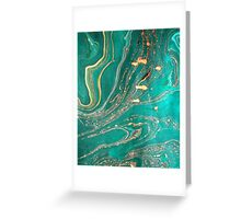 Underwater Gold Greeting Card
