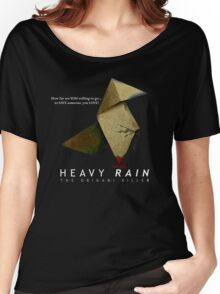 Heavy Rain - The Origami Killer Women's Relaxed Fit T-Shirt