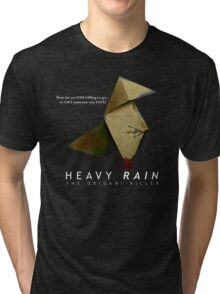 Heavy Rain - The Origami Killer Tri-blend T-Shirt