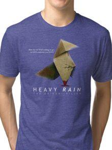 Heavy Rain - The Origami Killer Tri-blend T-Shirt