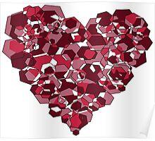 Love is Geometric Poster