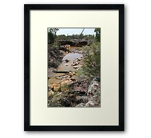 Drought and devistation Framed Print