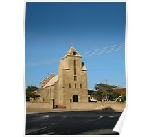 St Mary Star of the Sea Church, Carnarvon Poster