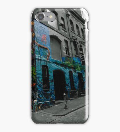 Graffiti Lane Melbourne  iPhone Case/Skin