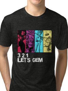 3, 2, 1 Let's Gem Tri-blend T-Shirt