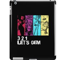 3, 2, 1 Let's Gem iPad Case/Skin