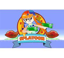 Splatoon X Sonic The Hedgehog Photographic Print