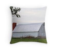 White Barn- Hartford City Throw Pillow