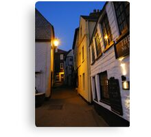Cornwall: Late Evening in Port Isaac Canvas Print