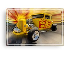 My Early Morning Ride Canvas Print