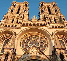 Cathedrale Notre Dame de Laon 3 by Chris Tarling