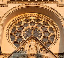 Cathedrale Notre Dame de Laon 4 by Chris Tarling