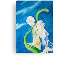 Anime pair Canvas Print