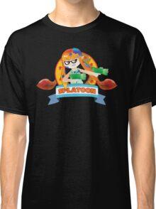 Splatoon X Sonic The Hedgehog Classic T-Shirt